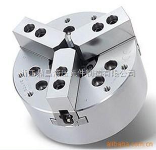 台湾辁鑫中空液压卡盘/油压夹头/油压动力卡盘5.6.8.10寸
