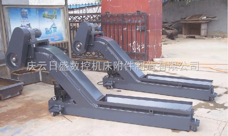 链板式排屑机    各种形式排列的切屑处理系统