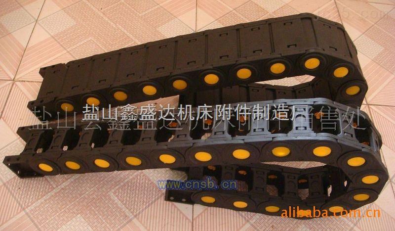 鑫盛达专业定做各种TFA25斜接头方接头工程塑料拖链尼龙拖链