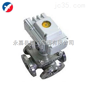 供应浙江Q946F电动四通球阀高品质