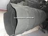 耐高温伸缩软接头 耐高温帆布丝杆伸缩防护罩