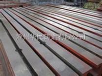 A级地轨 地梁 地槽铁 基础槽铁-地轨-华民铸造,铸造件加工
