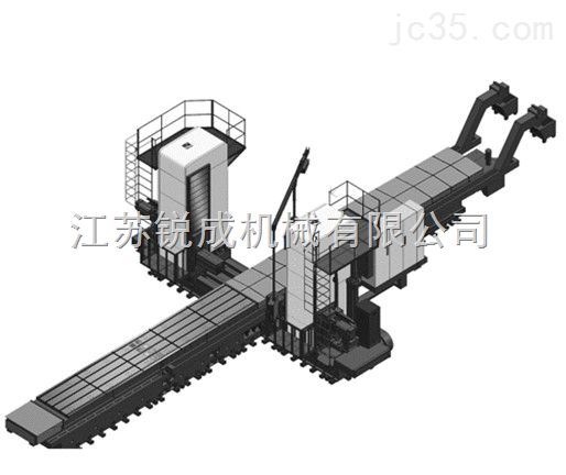 TKS63140-800卧式双面数控镗铣床