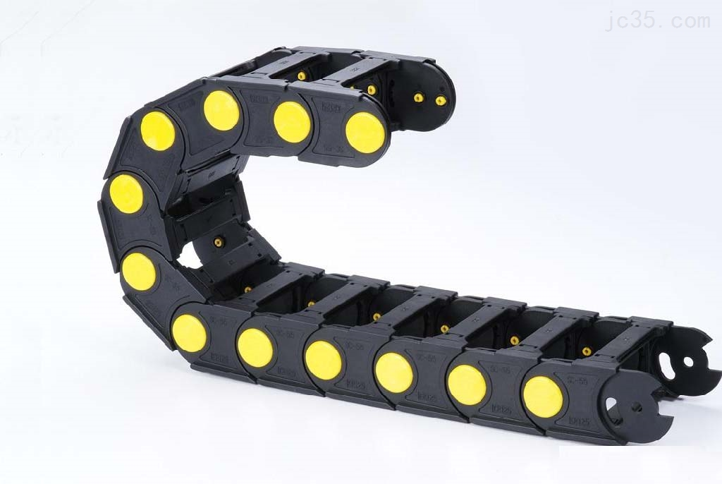 80系列机床工程塑料拖链