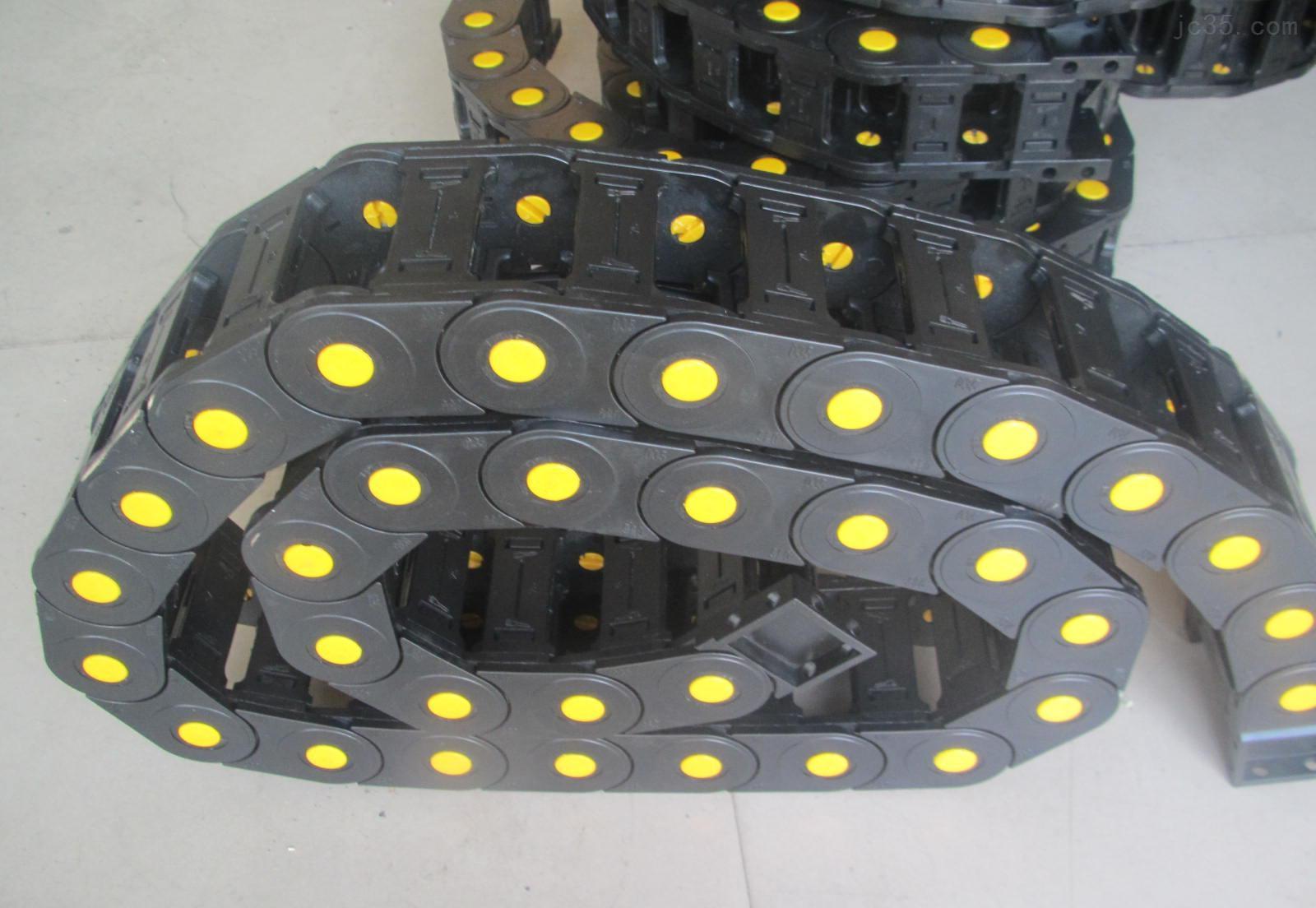 齐全【浙江武义县塑料尼龙穿线坦克|切石机拖链】