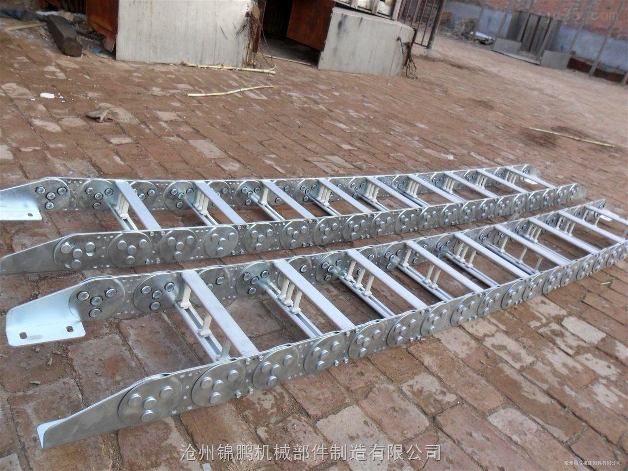 TL45钢铝机床拖链形式