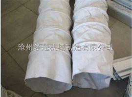 白色帆布耐磨水泥厂用除尘布袋热卖中