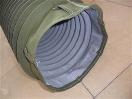 纺织设备方形帆布除尘通风软连接三包