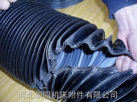 厂家定制耐高温伸缩拉链式丝杠防护罩