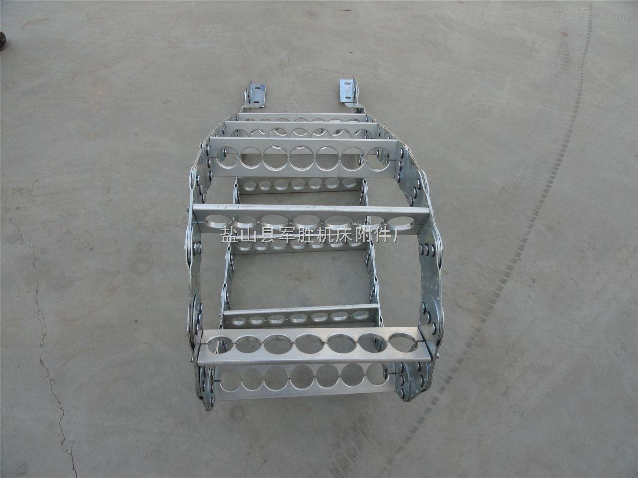 切割设备电缆穿线钢制拖链生产厂家