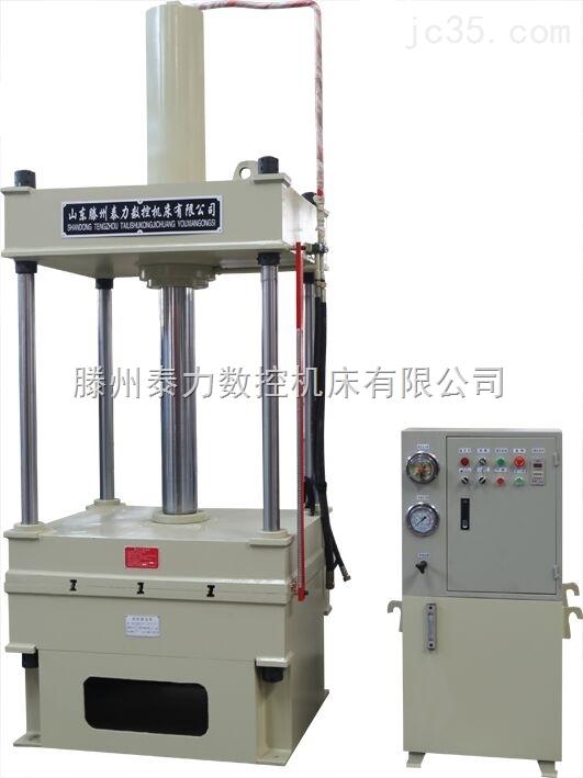 滕州泰力200吨四柱液压机液压压力冲床支持定做供应河北邯郸
