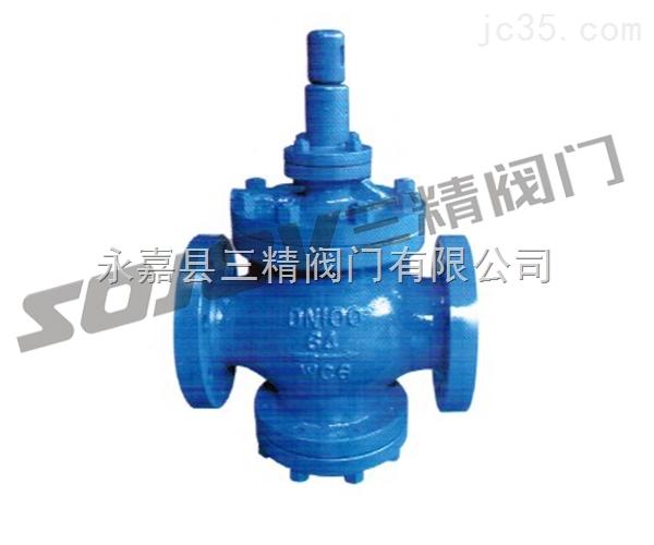 减压阀图片系列:YGa43H高灵敏度大流量蒸汽减压阀,大流量减压阀