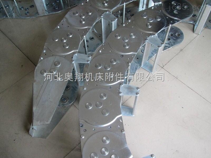 重载机械桥式钢铝拖链