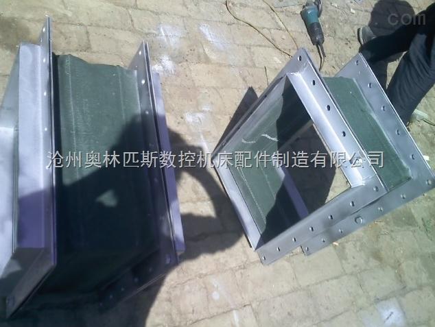 集尘设备专用帆布除尘软连接
