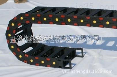 冲孔机穿线坦克输送链 桥式塑料拖链