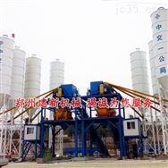 建新机械HZS90混凝土搅拌站