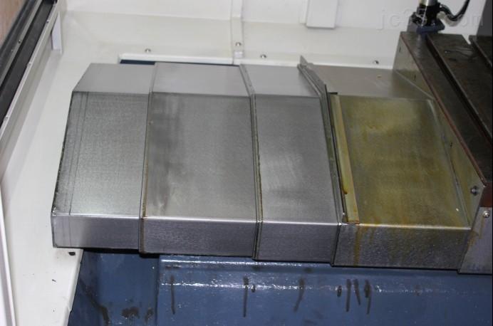 伸缩式大隗机床钢板防护罩
