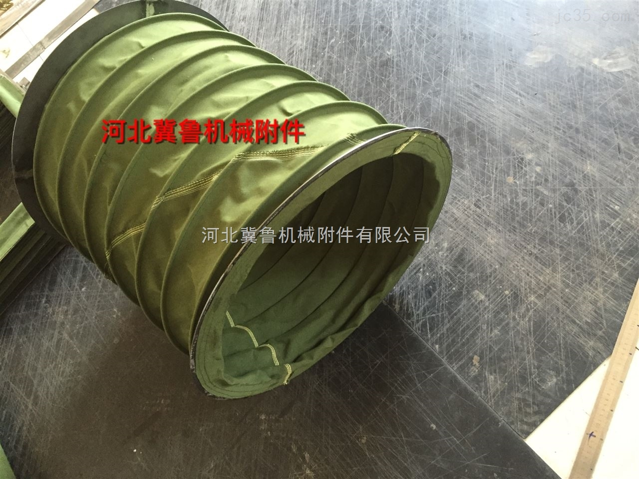 使用寿命长的防腐风机帆布软连接