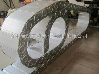 不锈钢机床穿线拖链、桥式风管牵引保护钢制拖链生产