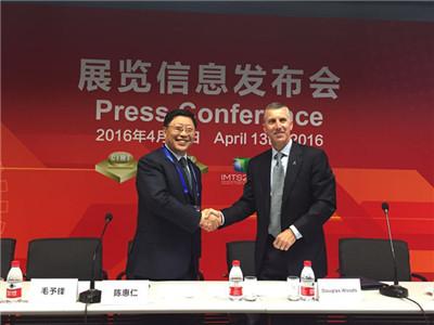 中美两大制造业协会将联合举办中国重庆国际机床展(CCIMT)