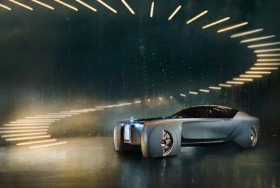 劳斯莱斯首款无人驾驶概念车发布:梦幻奢华