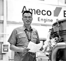 """Ameco周国友:飞机""""手术师""""钻研设备省百余万"""