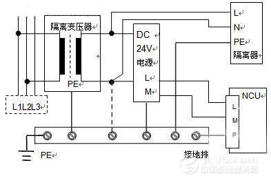 电路之间由于分布电容耦合而产生的干扰,变压器初次级线圈之间接地的